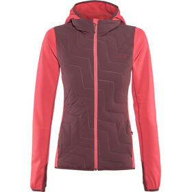 PYUA Blaze Hooded Jacket Women barberry pink-burgundy